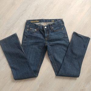 J.Crew Matchstick Straight Leg Jean 28R